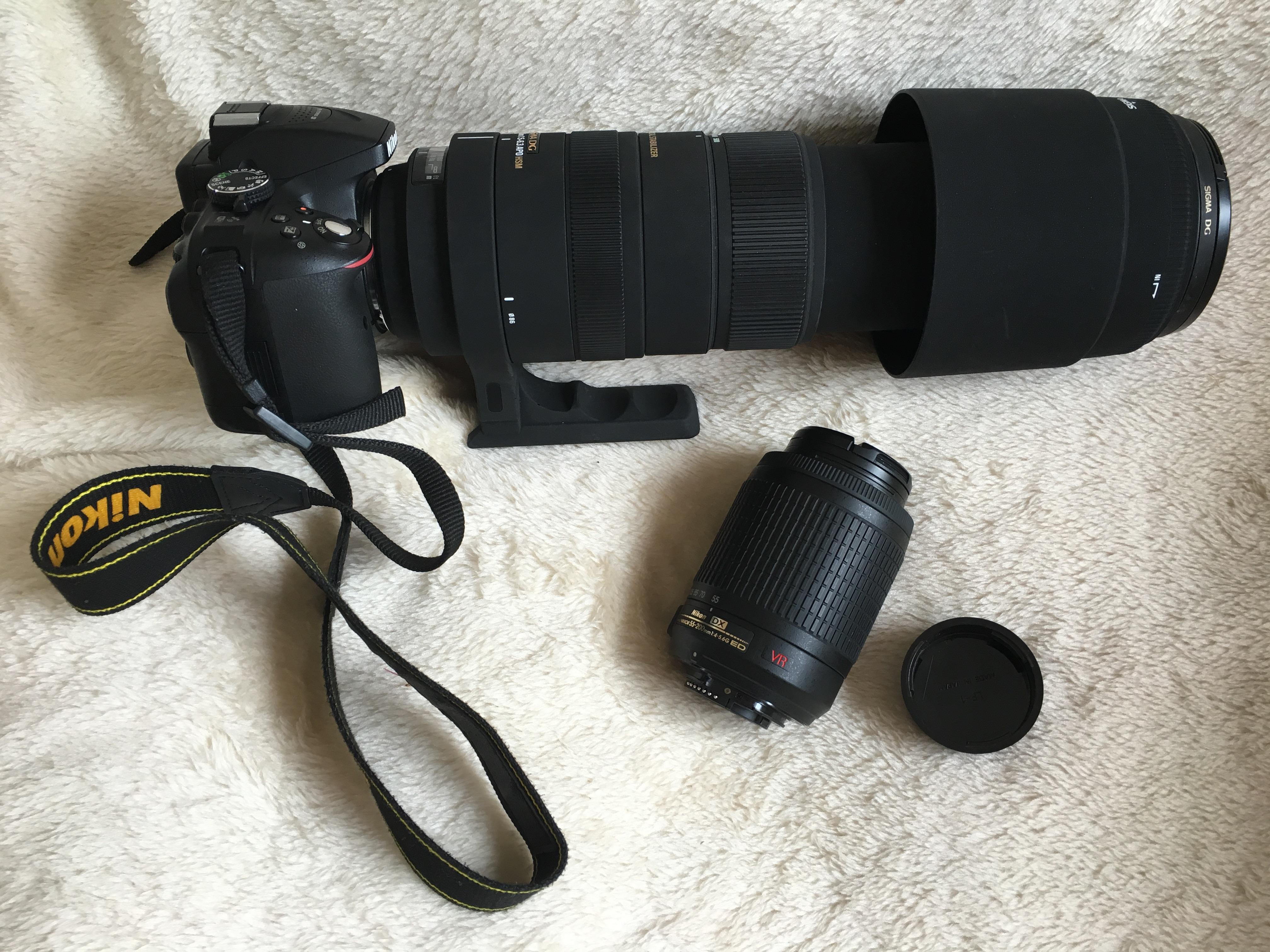 A 200mm Kit Lens vs A Sigma 150mm-500mm lens