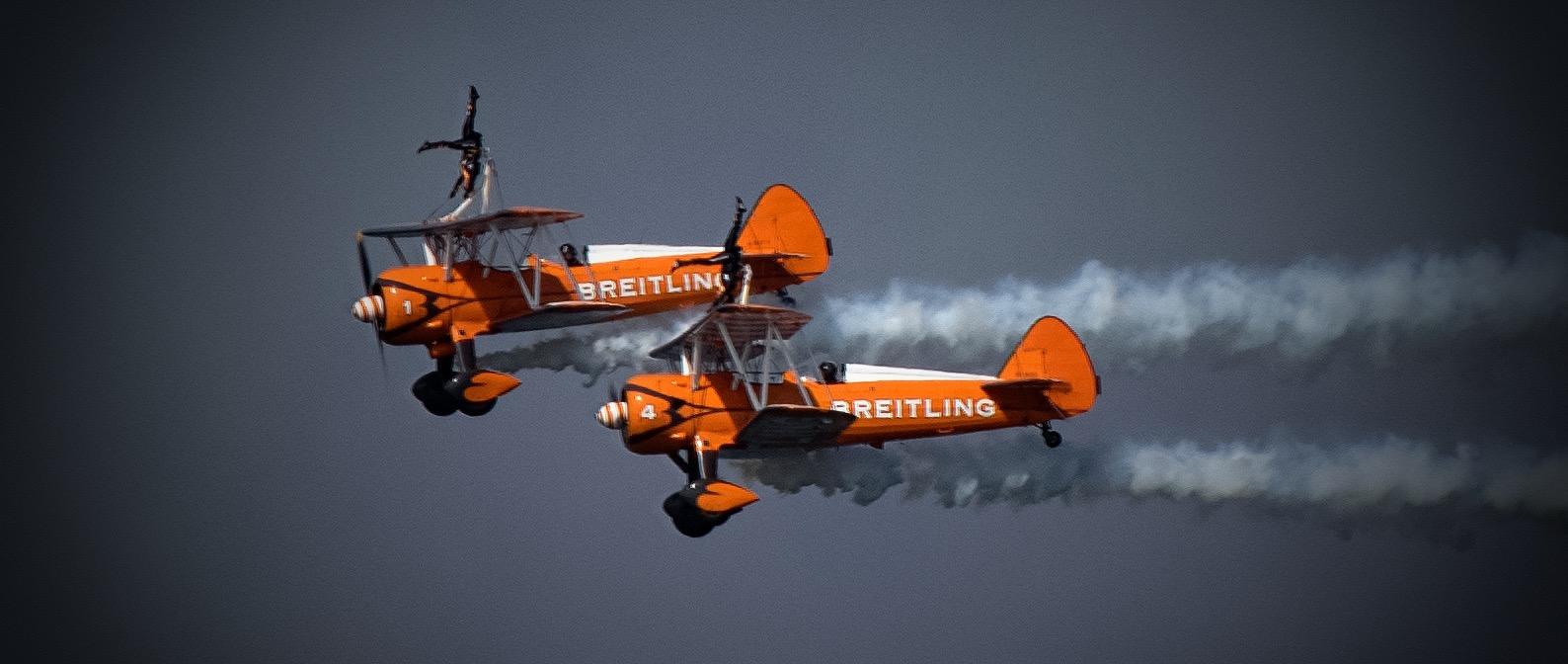 Smoke and Wingwalkers