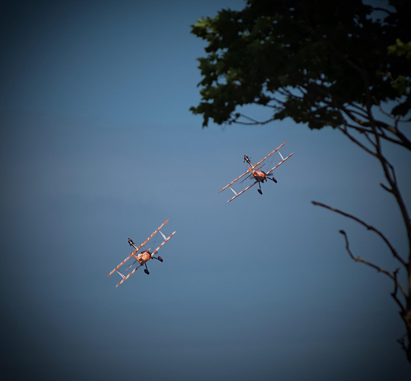 Wingwalkers at Torbay Airshow