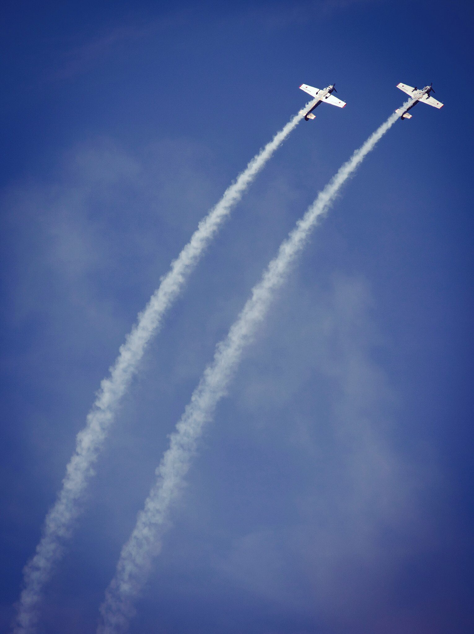 Torbay Airshow Contrails
