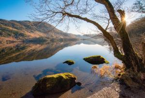 Sunshine at Lake Ullswater